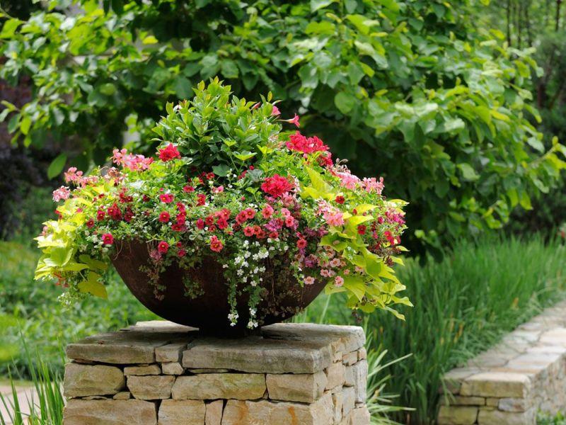 Оригинальное оформление сада: реальные фото-идеи