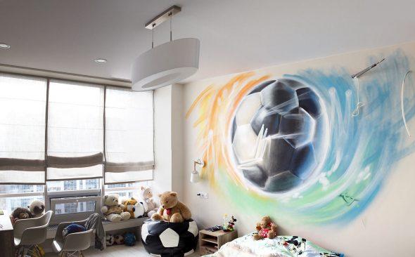 Оформление комнаты для мальчика-подростка