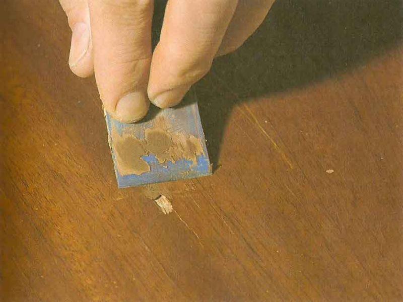 Чем заделать сколы на мебели из ДСП: лучшие способы