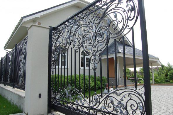 Забор из металла