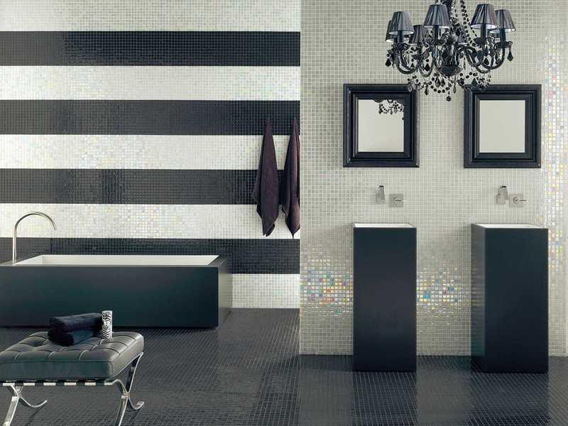 Какая плитка визуально увеличивает пространство в ванной: подборка фото