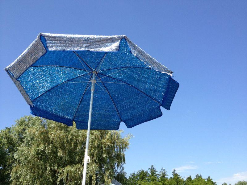Пляжный зонт своими руками: мастер-класс по изготовлению