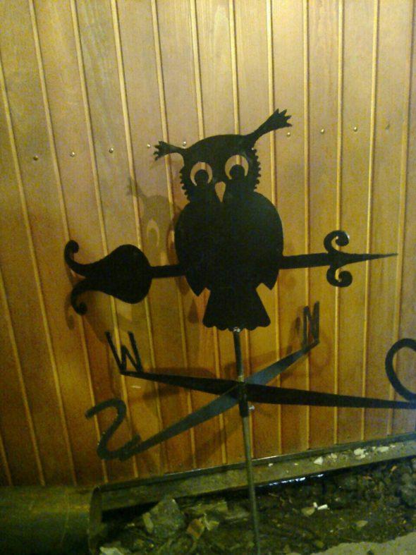 флюгер сова