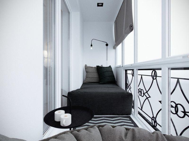 Как оформить маленький балкон: идеи для будущей комнаты отдыха