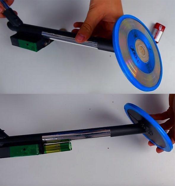 Металлоискатель с электронной схемой своими руками