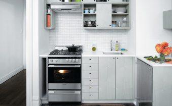 Размещение техники на маленькой кухне