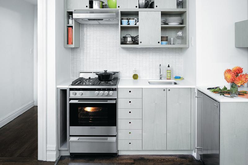 Как разместить бытовую технику на маленькой кухне: идеи на фото