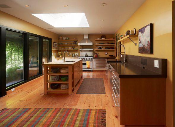 Ковёр на кухне