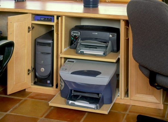 место для принтера дома
