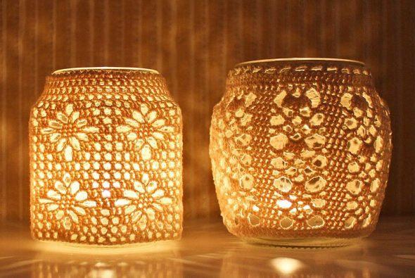 Свечи в банке