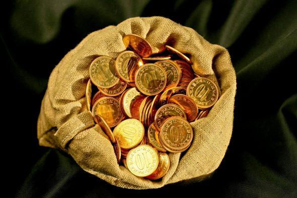 Мешочек с монетами