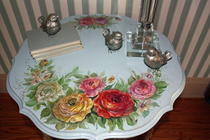 Декор стола в стиле прованс своими руками: идеи на фото