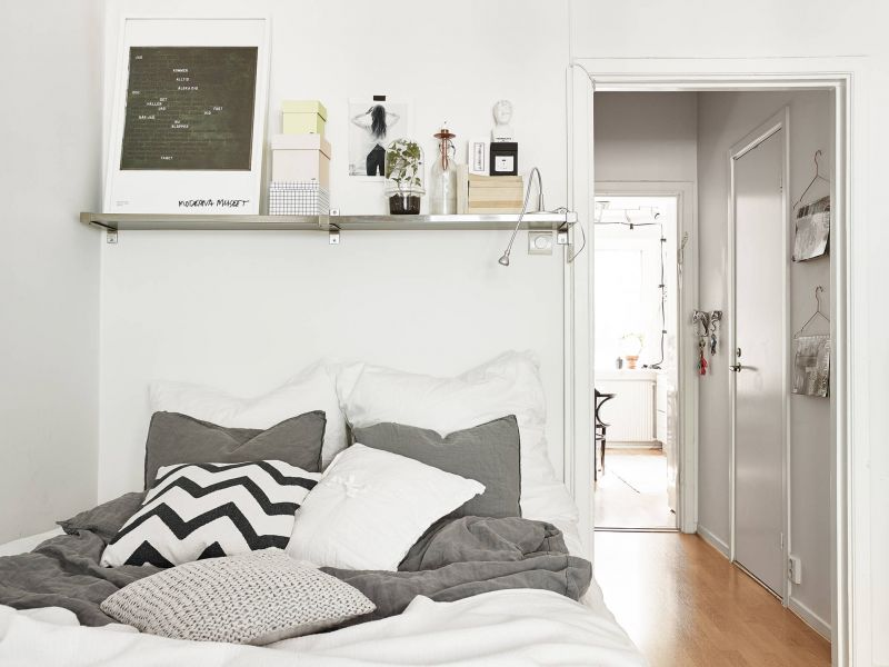 17 идей дизайна маленькой спальни на 5 кв. м (фото)