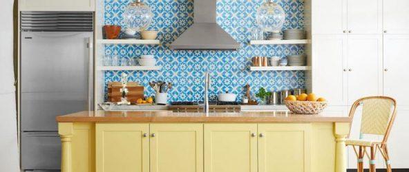 Бюджетный фартук на кухню: подборка идей на фото