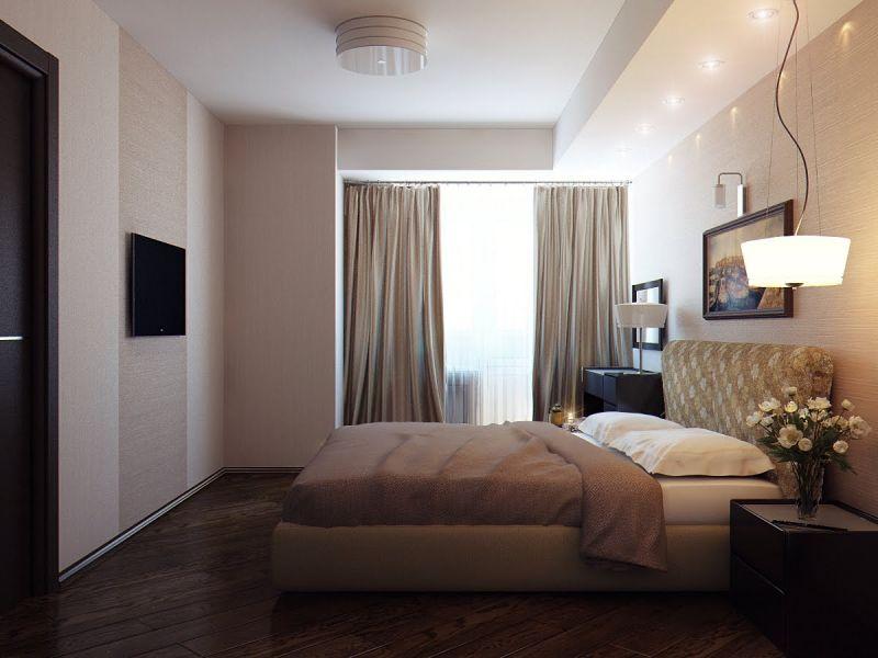 Дизайн спальни 4 кв м: всё гениальное — просто