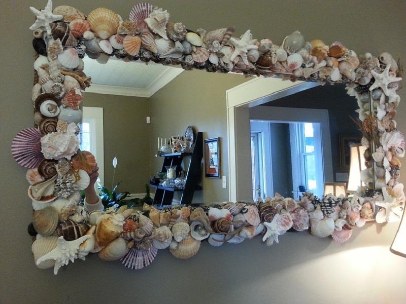 Реставрация и декор старого зеркала своими руками: подборка фото