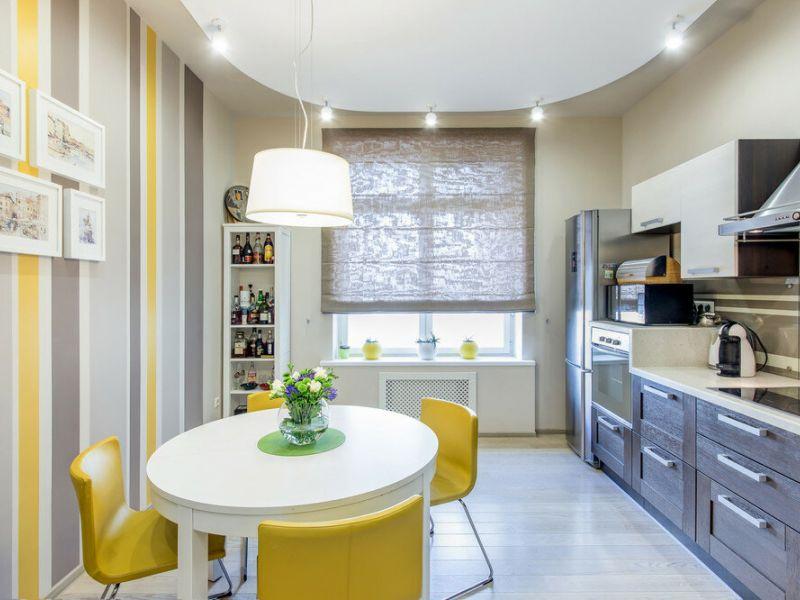 Какой цвет лучше выбрать для маленькой кухни: фото-советы дизайнеров