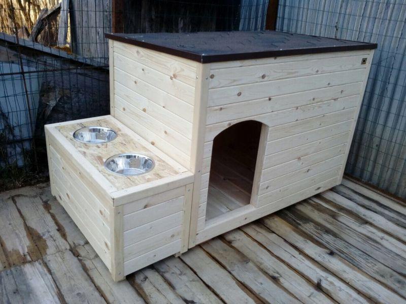Какую будку можно сделать для собаки: просто и функционально