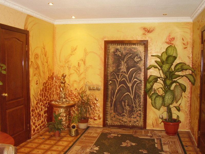 Декор старой деревянной двери своими руками: подборка фото