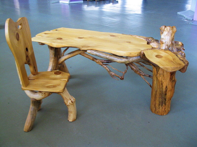 Стол из дров своими руками: мастер-класс