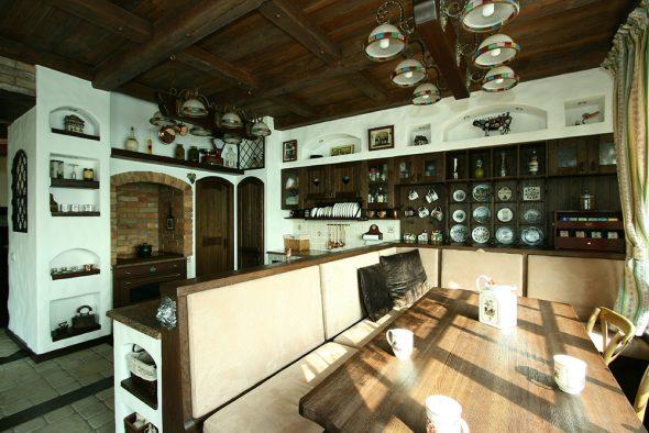 Кухня в баварском стиле