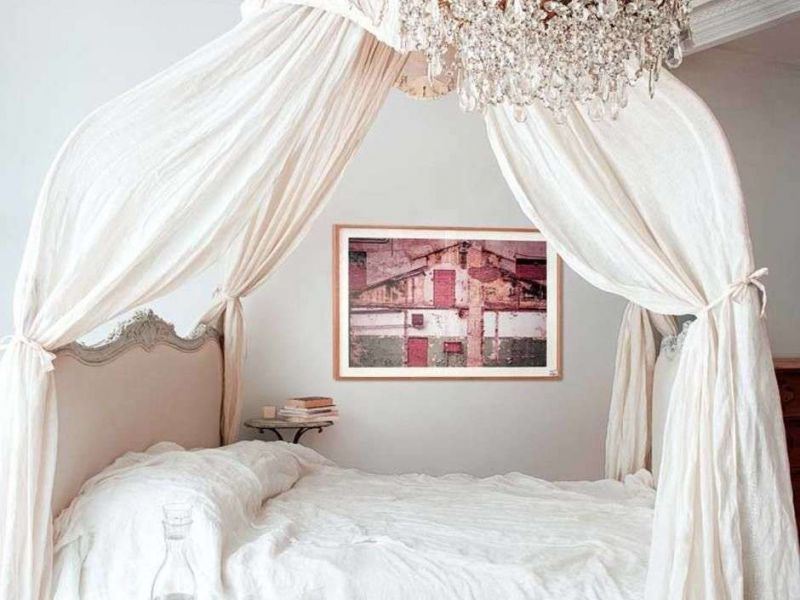 Королевский сон: балдахин своими руками на кровать для взрослого