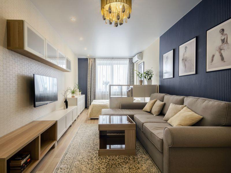 Как выбрать обои для узкой комнаты: рекомендации дизайнеров