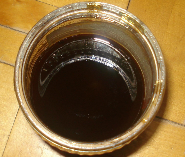 Готовая олифа из растительного масла