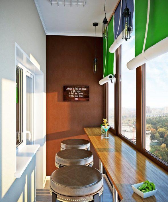 Балкон как мини-бар