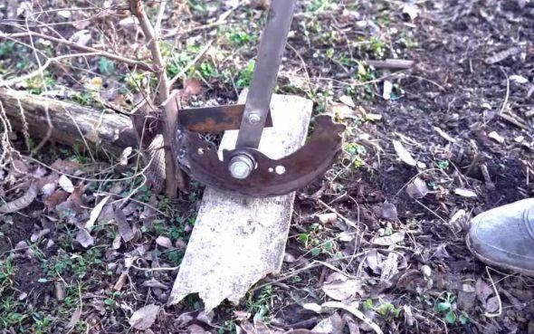 Приспособление для корчевания деревьев