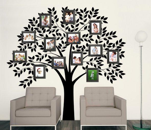 Деревья на обоях с фотографиями