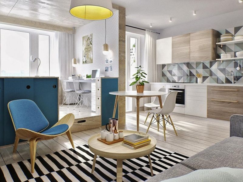 Маленькие квартирки: коллекция уютных фото