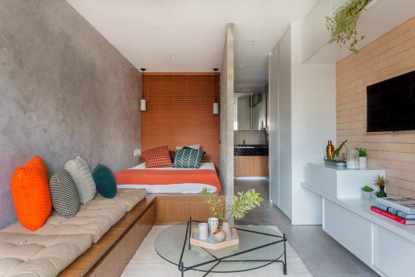 маленькая уютная квартира