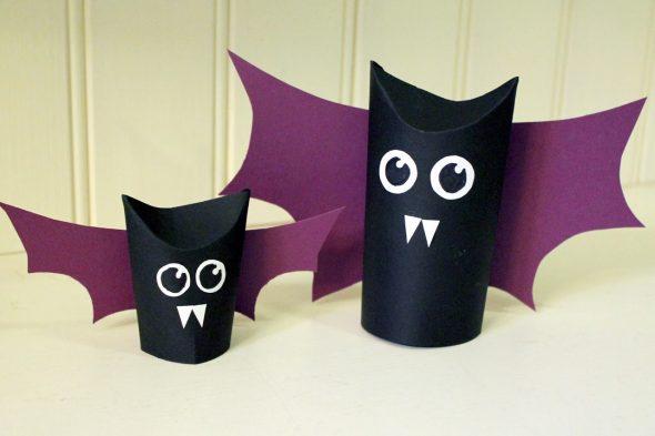Игрушки из втулок от туалетной бумаги