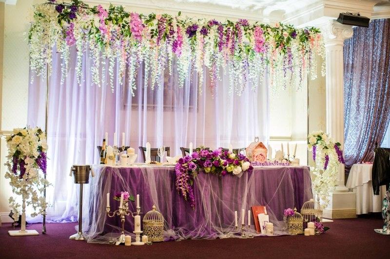 Свадебные украшения для зала своими руками: подборка фото