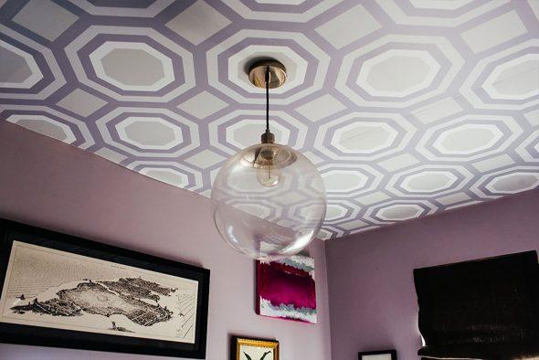 Цветной потолок