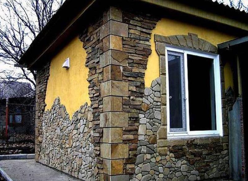 Как украсить фасад дома своими руками: подборка фото