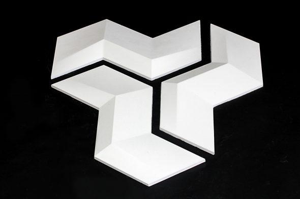 Гипсовые 3D модули