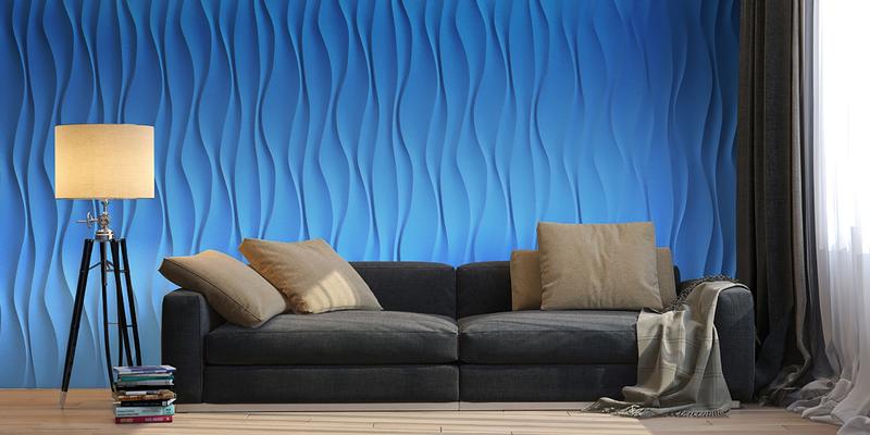 3D панели в интерьере квартиры: фото для вдохновения