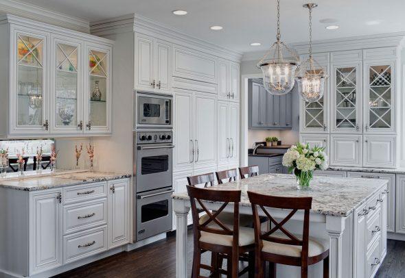 Кухня в стиле американской классики