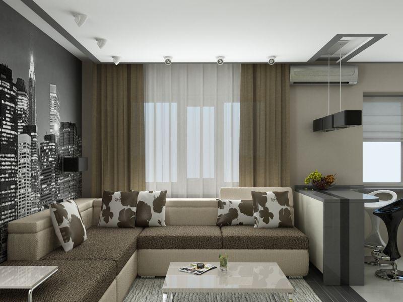 Мебель для квартиры-студии 25 кв м: фото и удачные решения в обстановке