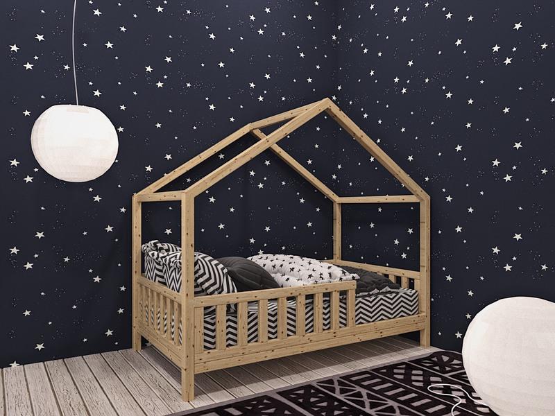 Как сделать сказочную детскую кроватку своими руками