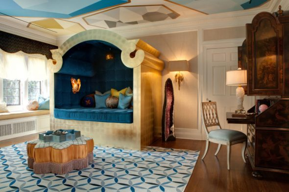 красивая гостиная в арабском стиле