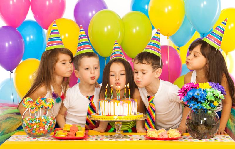 Как оформить детский день рождения своими руками со вкусом и без больших затрат