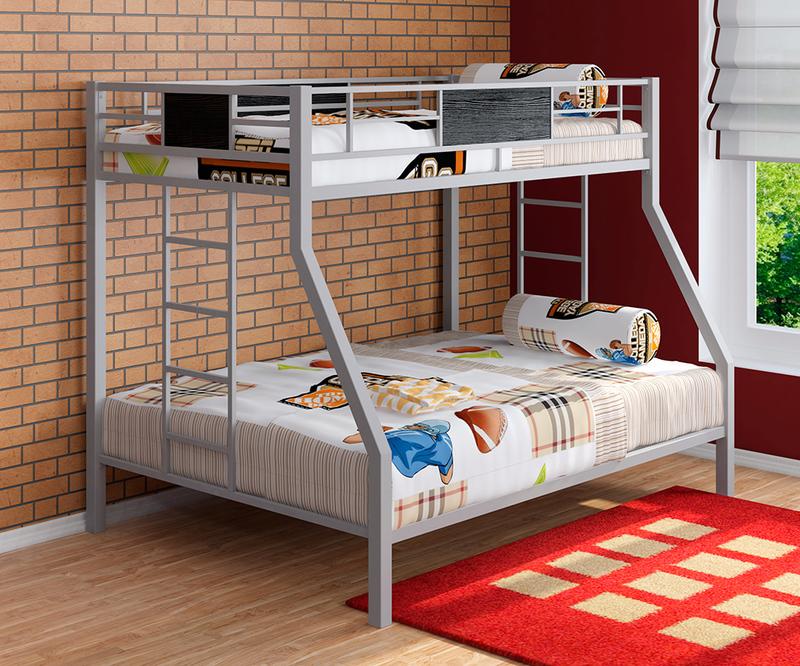 Оригинальные идеи, как обустроить двухъярусную кровать: подборка фото