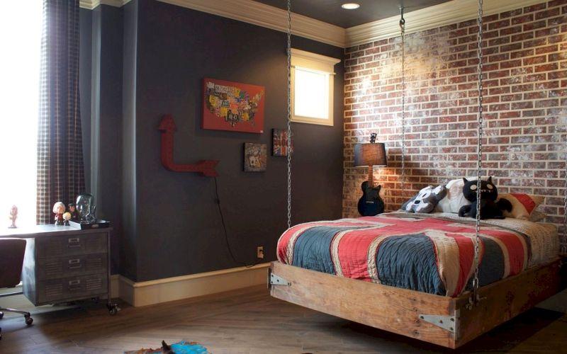 Комната для мальчика-подростка площадью 10 кв. м: необычные дизайнерские идеи