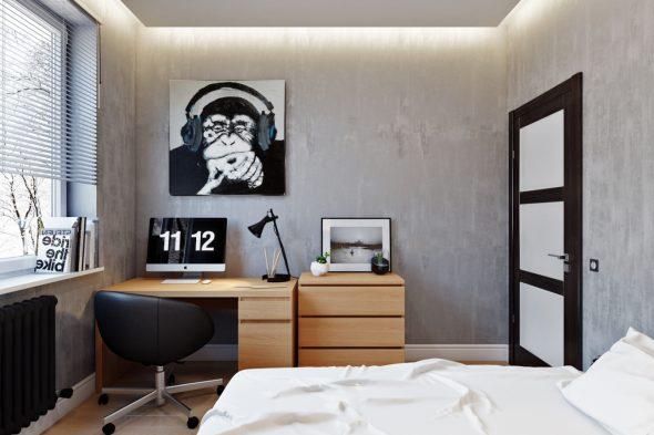 Небольшая комната для мальчика