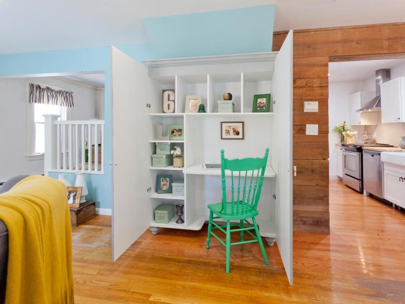 Домашний мини-офис в шкафу: обустраиваем рабочее место