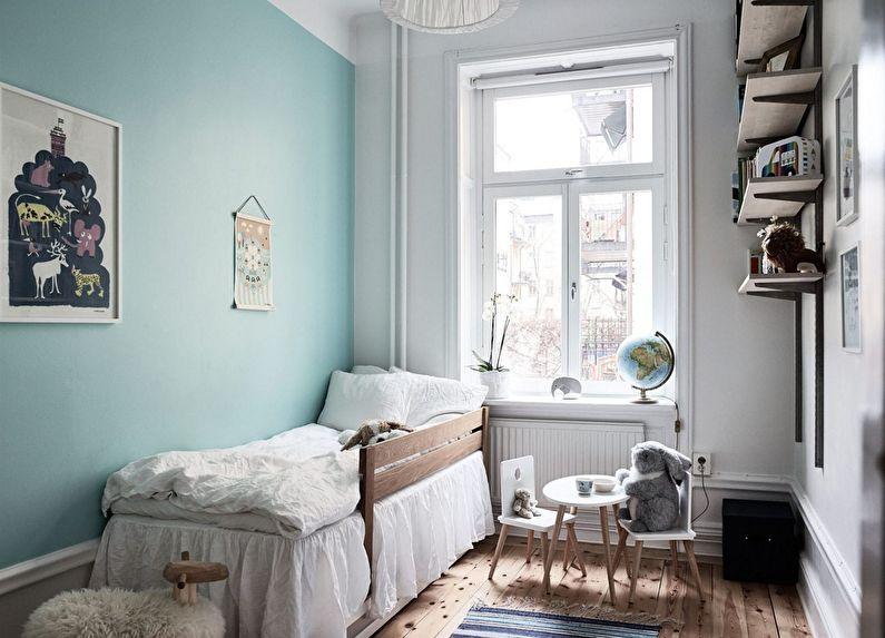 11 вариантов расстановки мебели в маленькой детской спальне