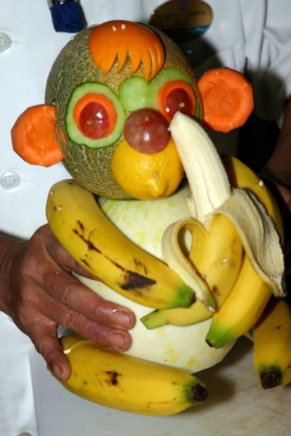 Фруктовая обезьянка